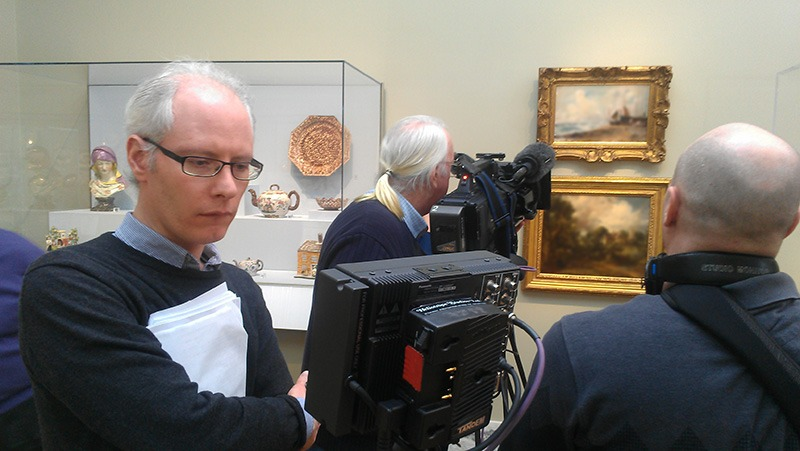 "Future Media Corporation provided lighting, audio and production assistance for BBC's program ""Fake or Fortune"" at the Detroit Institute of Arts Museum."