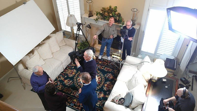 "Future Media Corporation provided lighting, audio and production assistance for BBC's program ""Fake or Fortune"" in Detroit Michigan."