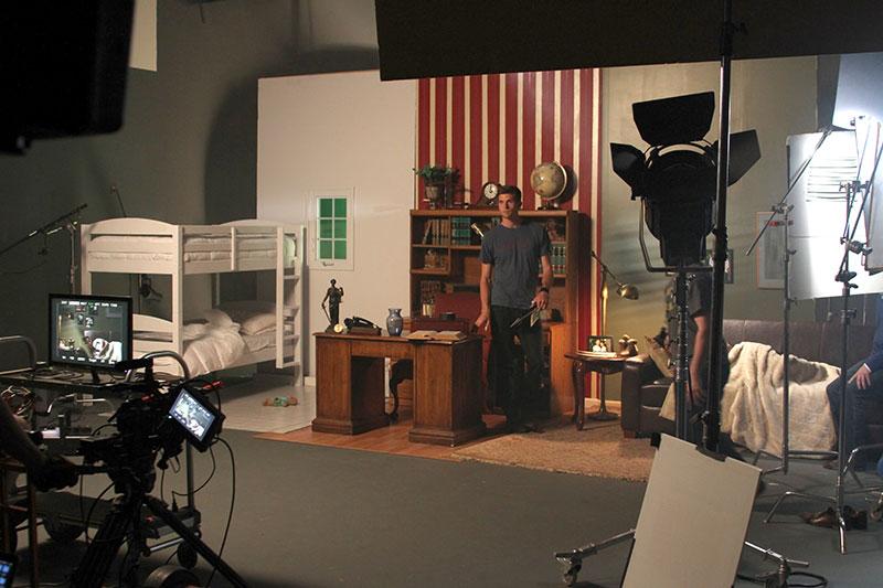 Eight Fold recording in Future Media Corporation's 2400 square foot studio.