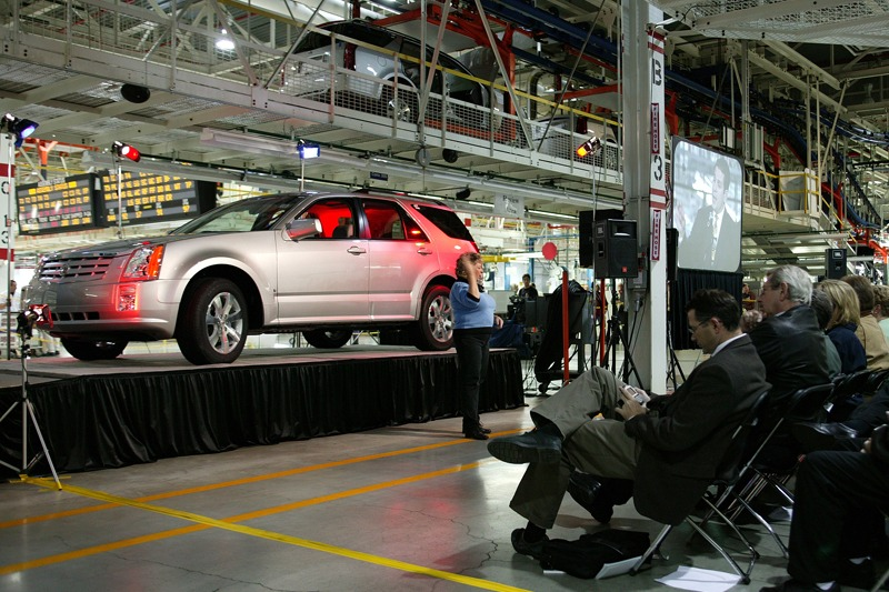 Future Media provided video and audio services for GM's Lansing Grand River Plant's 5th Year Anniversary.