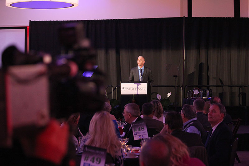 Photo from 2014 Lansing Regional Chamber of Commerce Annual Dinner.