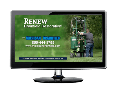 Renew Drainfield Restoration - Michigan Drainfield